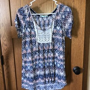 Maurices shirt sleeve top